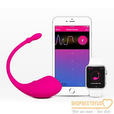Trứng rung tình yêu Lush Lovense Bluetooth Made in USA | đồ chơi yêu dụng cụ tình dục