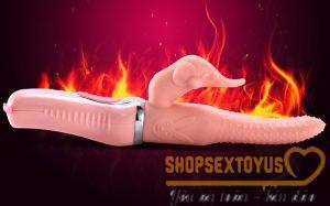 Dương vật giả hình lưỡi có gai, nhánh, tạo nhiệt cho nữ tỉnh Thái Nguyên | shop dương vật giả, máy rung tình yêu sextoy tỉnh Thái Nguyên | Top máy rung tình dục tạo nhiệt, rung ngoáy uy tín