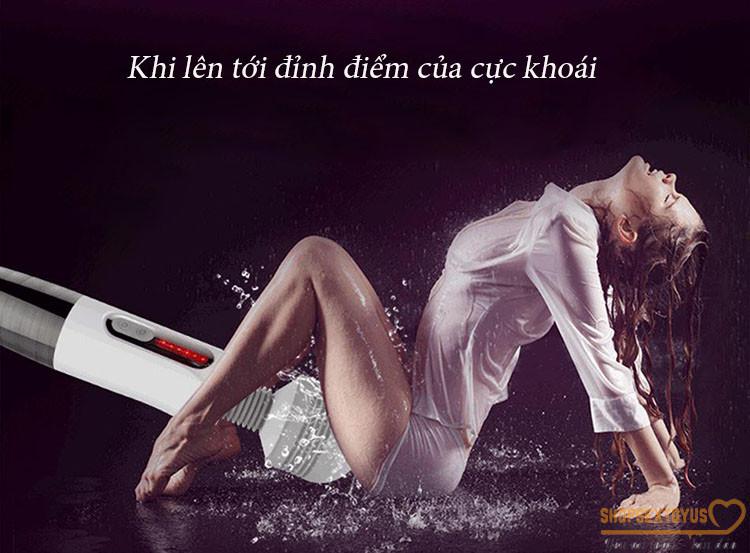Chày rung tình dục sạc pin siêu mạnh Lightning Letten – CR233   dụng cụ đồ chơi tình ái cho nữ