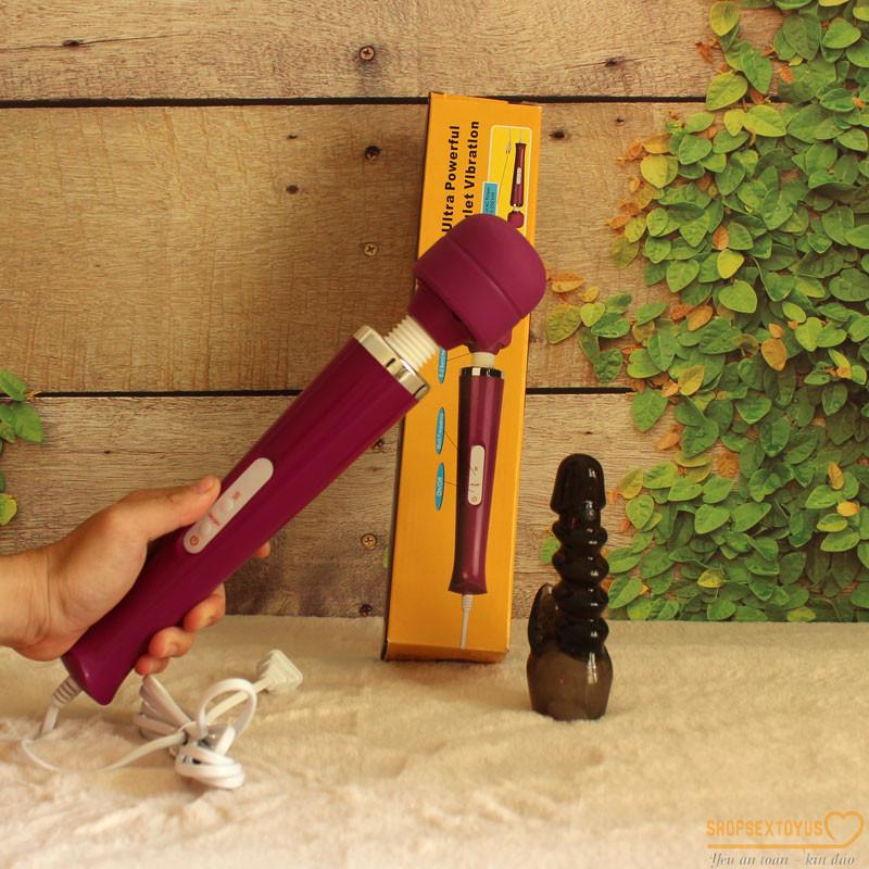 Chày rung tình dục massage MAGIC WAND Nhật Bản – CR239 |  Dụng cụ đồ chơi tình yêu máy rung đa năng