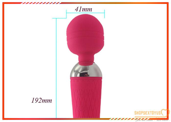 chày rung tình dục AV dụng cụ tình yêu nữ – CR246 | Dụng cụ kích thích điểm G dạng máy rung âm đạo