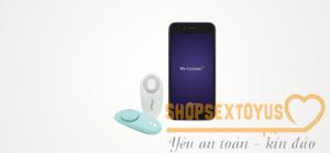 Máy rung tình dục giá rẻ điều khiển qua điện thoại We-Vibe Moxie