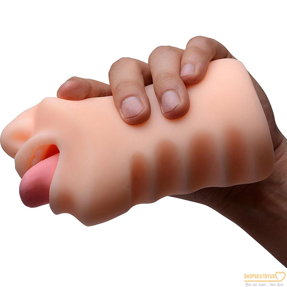 Âm đạo giả có lưỡi liếm kích thích dương vật – AD263  dụng cụ hỗ trợ tình yêu cho nam giới tự sướng