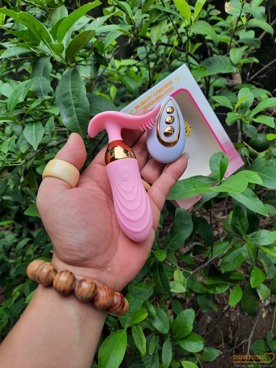 Trứng rung tình yêu có lưỡi liếm LUMINOS – TR 264 | Máy rung tình dục nữ, đồ chơi yêu đa năng
