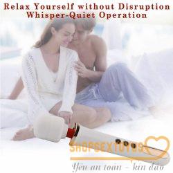 Chày rung massage kích thích ới vẻ ngoài nổi bật mà người dùng yêu thích ngay từ cái nhìn đầu tiên. Chày rung massage kích thích 10 chế độ rung mạnh mẽ và 5 tốc độ giúp kích thích các điểm nhạy cảm trên cơ thể. Phần đầu món chày rung tình dục này được làm bằng silicone mềm và có thể uốn cong 360 độ để xử lý các vị trí khó như cổ, hậu môn, v.v. Sạc pin qua cổng USB thực tế. Chày rung massage kích thích không thấm nước, vì vậy nó có thể được sử dụng ở một số nơi mới để tăng thêm niềm vui.